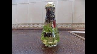 Растительное масло  с пряными травами и чесноком для салата