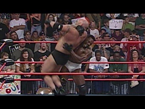 Booker T vs. Goldberg - WCW Championship Match: Nitro, July 24, 2000