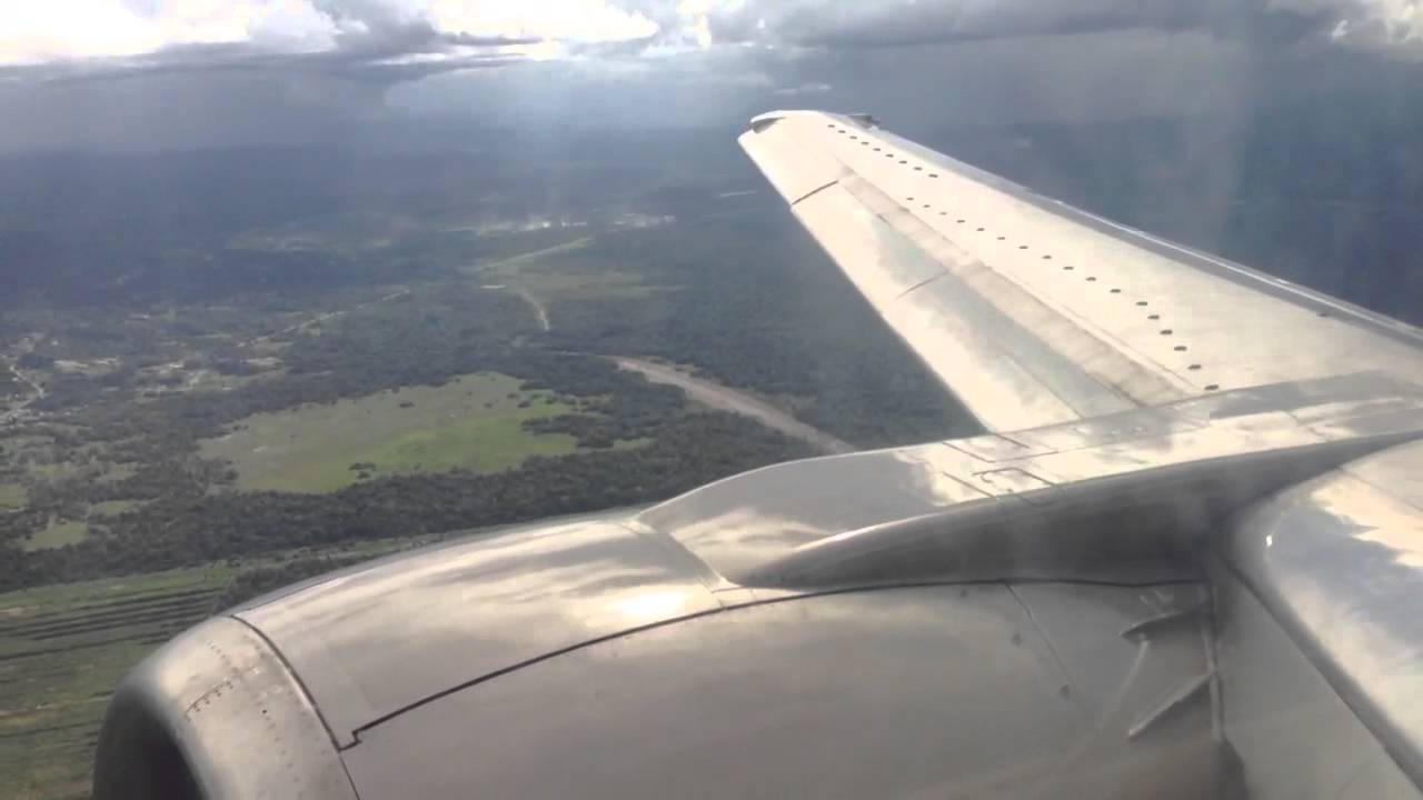 Malaysia Airlines Flight MH730 Landing At Brunei ...