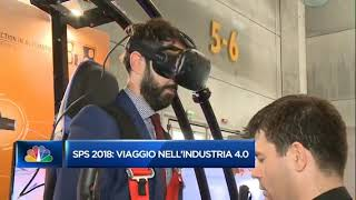 Vitruvian VR Game at SPS Ipc Drives Parma 2018 - CNBC Milano Finanza Interview