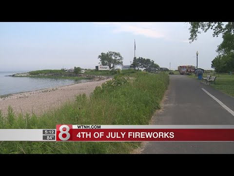 100,000 expected to gather for fireworks in West Haven
