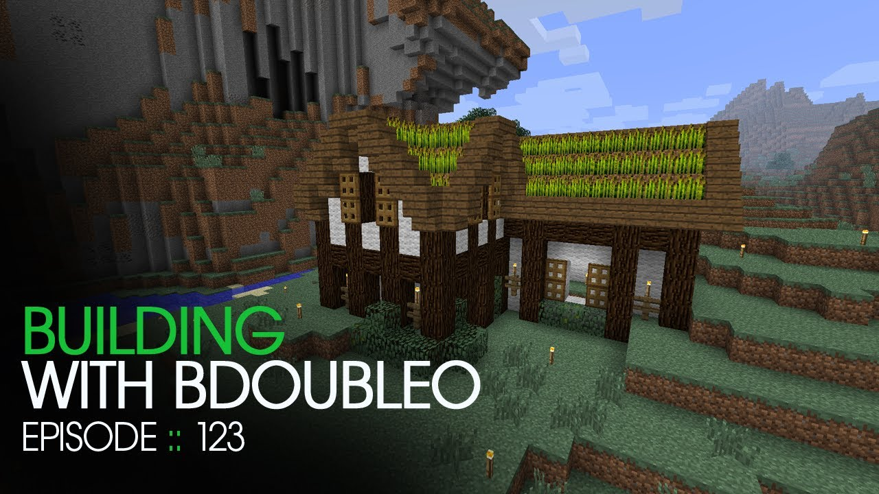 Minecraft Building With Bdoubleo