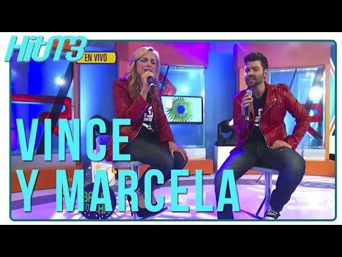 Vince Miranda y Marcela Guirado cantan del musical