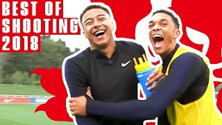 Crazy Crossbar Challenge, Kirby's Curler & Skilful Sterling! | Best Shooting Training 2018 | England