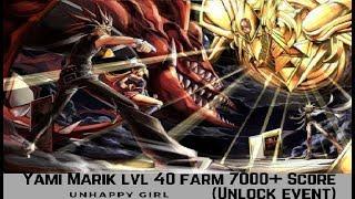 [Yu-Gi-Oh! Duel Links] Yami Marik lvl 40 Farm (Unhappy Gril) [7000+ Score]