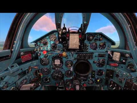 DCS Mig21bis Startup - Taxi - Takeoff - Landing