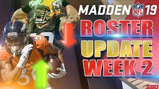 Madden 19 Roster Update Week 2: Who
