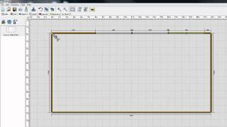 ECDESIGN - Plan the layout in top view 2D