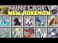 Minecraft NEW POKÉMON MOD l CAPTURE NEW POKÉMON AND LEGENDARIES! l Modded Mini-Game