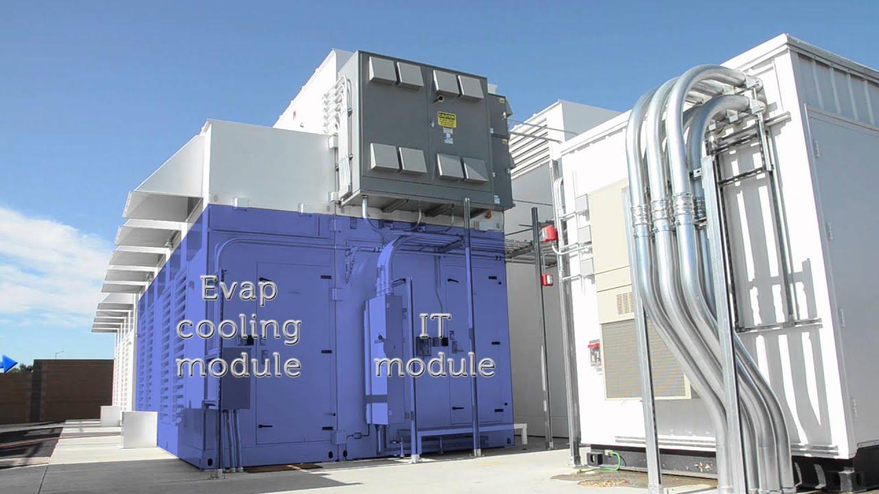 Dell Modular Data Center Tour Youtube