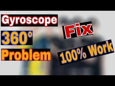 how to fix gyroscope 360° problem in pubg mobile