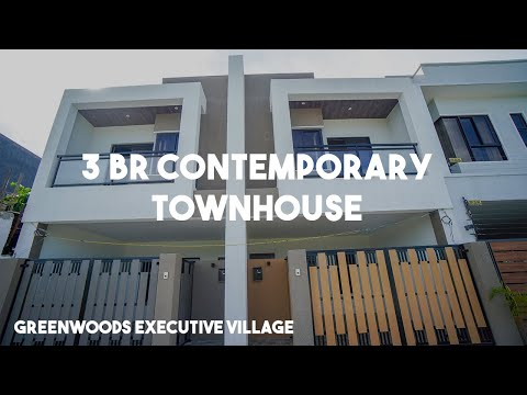 3 BR Contemporary Townhouse in Greenwoods Executive Village, Pasig City | Vlog # 54