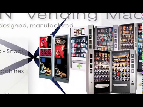 Vending Machines 100% Made in Italy