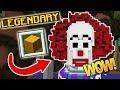 DOUBLE LEGENDARY SCARY CLOWN!!! (Minecraft Build Battle)
