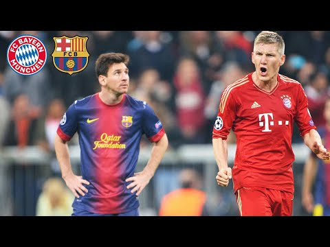 FC Bayern's legendary 7-0 over FC Barcelona   Highlights of the Champions League Semi Finals 2012/13