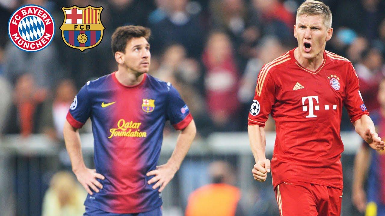 Fc Bayern S Legendary 7 0 Over Fc Barcelona Highlights
