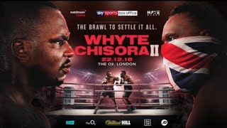 BREAKING NEWS:EDDIE HEARN STUCK,  AS DAZN REFUSES TO PICK UP WHYTE VS CHISORA 2, SHOWTIME NOW AIR IT