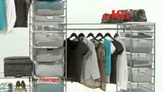 Elfa Wardrobe Solutions From The Storage Shop