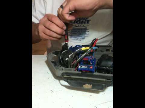 Traxxas Slash 4x4 King Headz Motor Mount Install Youtube