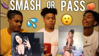 Wow they look better than we thought🤷🏽‍♂️ SMASH OR PASS (SUBSCRIBER EDITION)🍆😮🍑💦