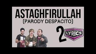 parodi despacito edisi sholat w nsg lyrics