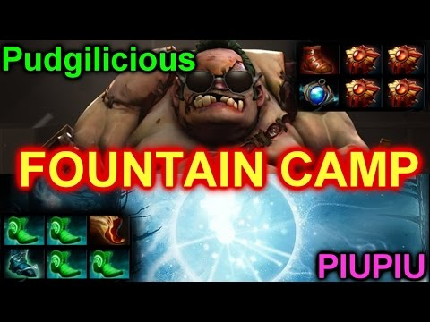Dota 2 Pudge & Wisp : Fountain Camp @Dotabuff Top Player