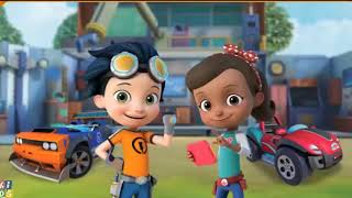 Rusty Rivets Bits On The Fritz & Rusty and Roby Dives in - Nick Junior Games