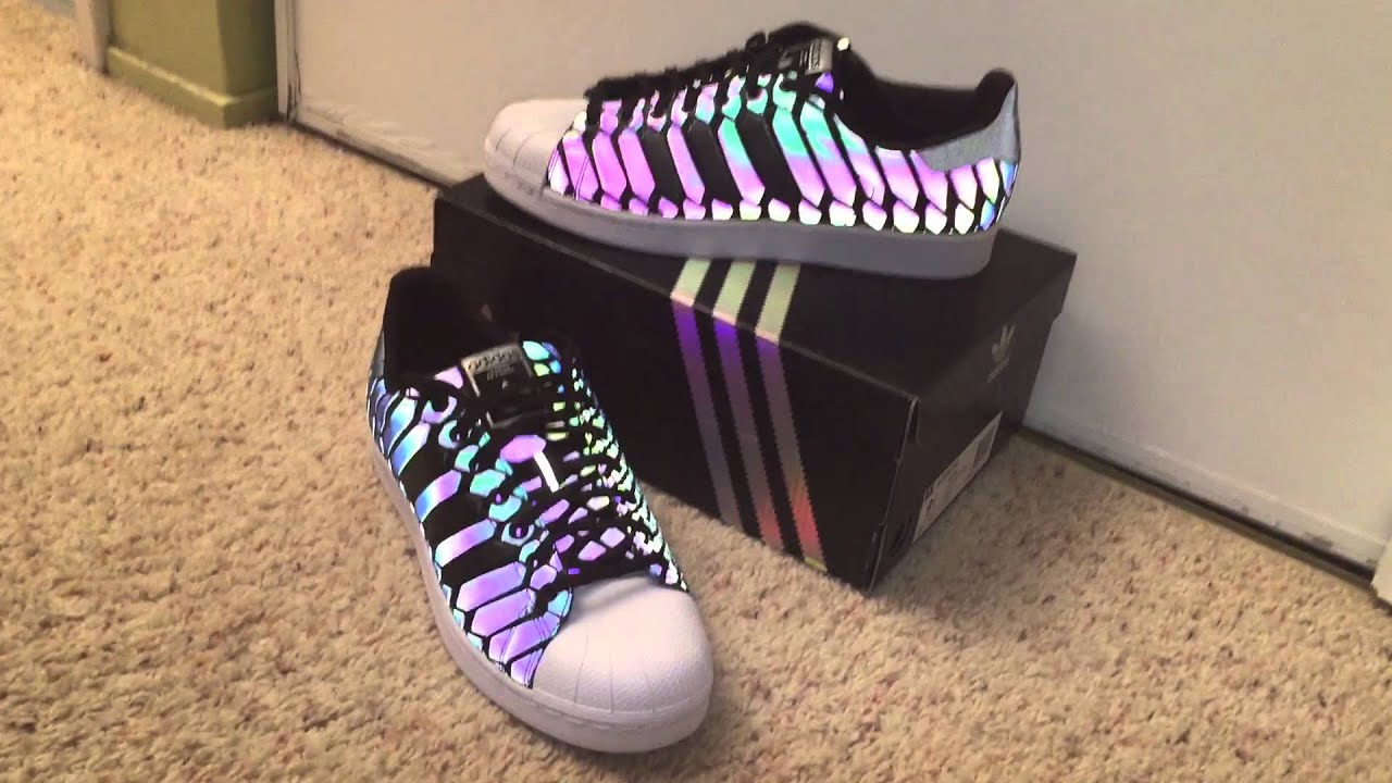 adidas holographic shoes xeno