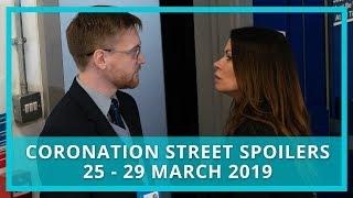 Coronation Street (Corrie) spoilers: 25 - 29 March 2019
