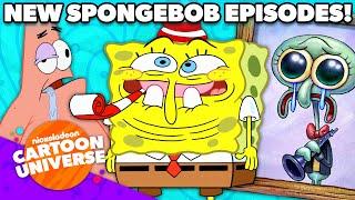 Funniest Moments From NEW SpongeBob Episodes! 😂 | Nickelodeon Cartoon Universe