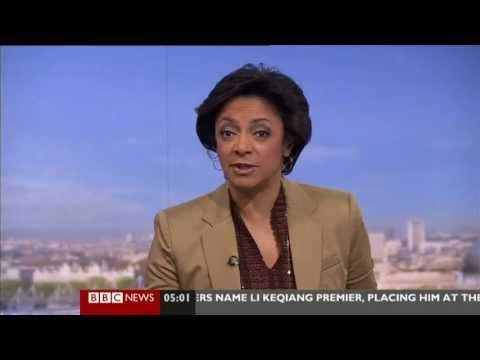 MARTINE DENNIS:-:BBC WORLD NEWS-15 March 2013 -