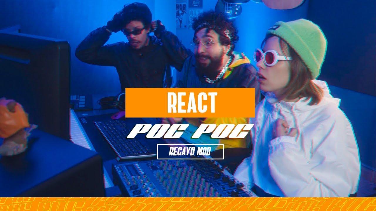 "React ""Poc Poc"" Recayd Mob - Emicouto, Lil Lucaxxx e JP"
