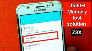 Samsung J5 J3 J1 J7 internal memory lost after flash problem solved | ZM Lab