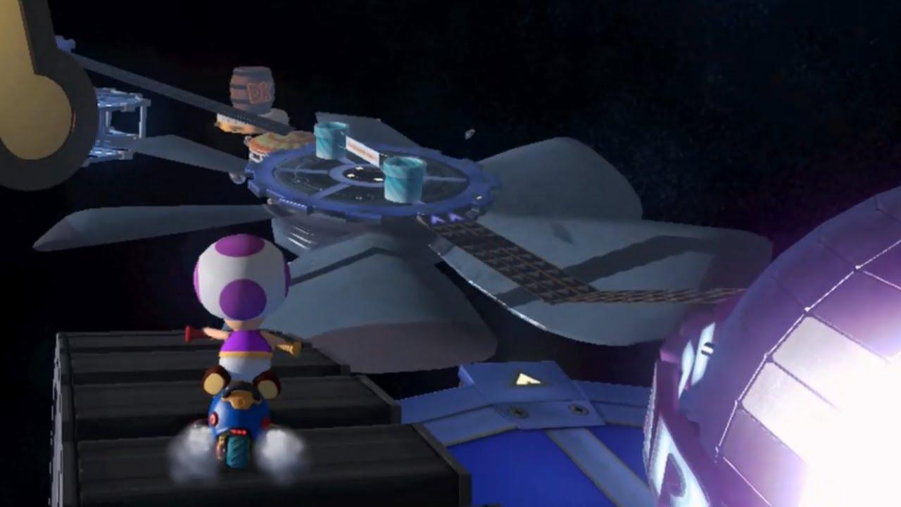 Mario Kart Custom Tracks Space Circus The Best - Space track