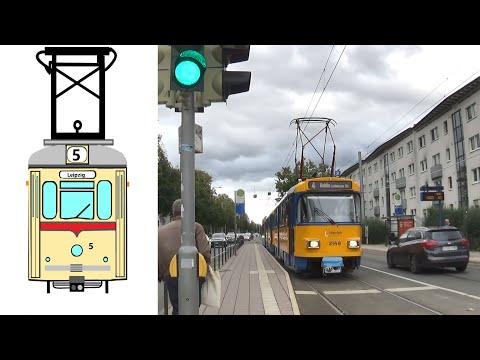 Straßenbahnen-  und Museen in Deutschland Teil 5 Leipzig