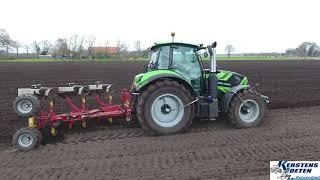 Deutz Agrotron 6165 TTV &amp Pottinger Servo Ploeg