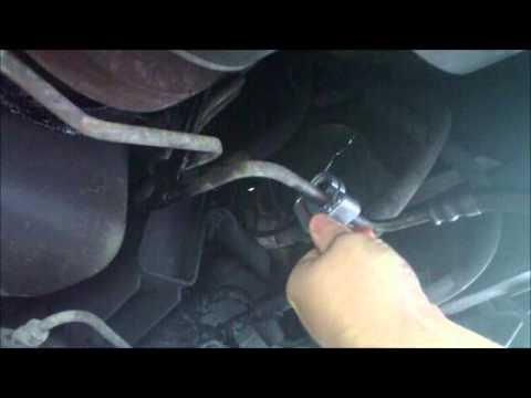 Transmission Cooler Line Replacement Part 1 (Left Hose)  YouTube