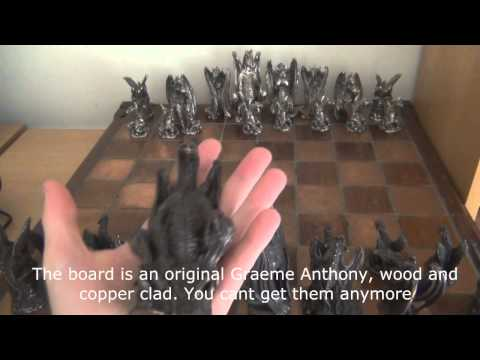 Pewter Figurines & Chess Sets (Royal Selangor & Graeme Anthony)