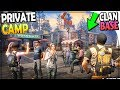 My CLAN BASE TOWN/CITY! (PRIVATE CAMP UPGRADES + QUESTS) - Life After Survival Part 13