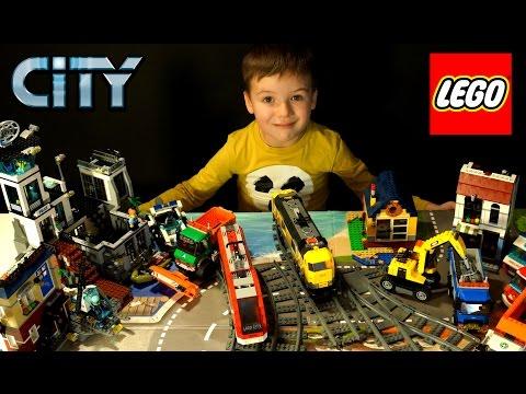 Лего Полиция. Лего Сити 2016- 60130 Остров Тюрьма - на русском языке. Lego City Police