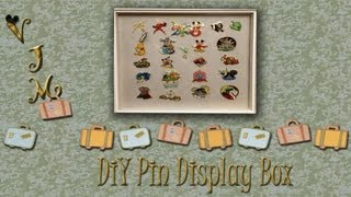 Diy Collector Pin Display Case, For Disney And Other Pins.