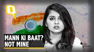 "In Today's India, My Mother Tells Me Not to Speak My ""Mann Ki Baat"""