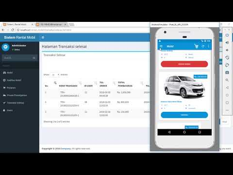 Membuat Aplikasi Rental Mobil Dengan Php