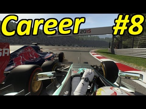 F1 2015 Career Mode Part 8: UNBELIEVABLE