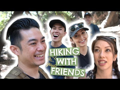 Leia Goes Hiking!! Ft. Tiff & Case
