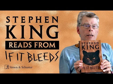 Stephen King Reads from His Book, If It Bleeds