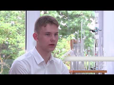 Бронзовый призёр международной олимпиады по химии