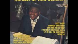Watch Fats Domino Goodnight Sweetheart video