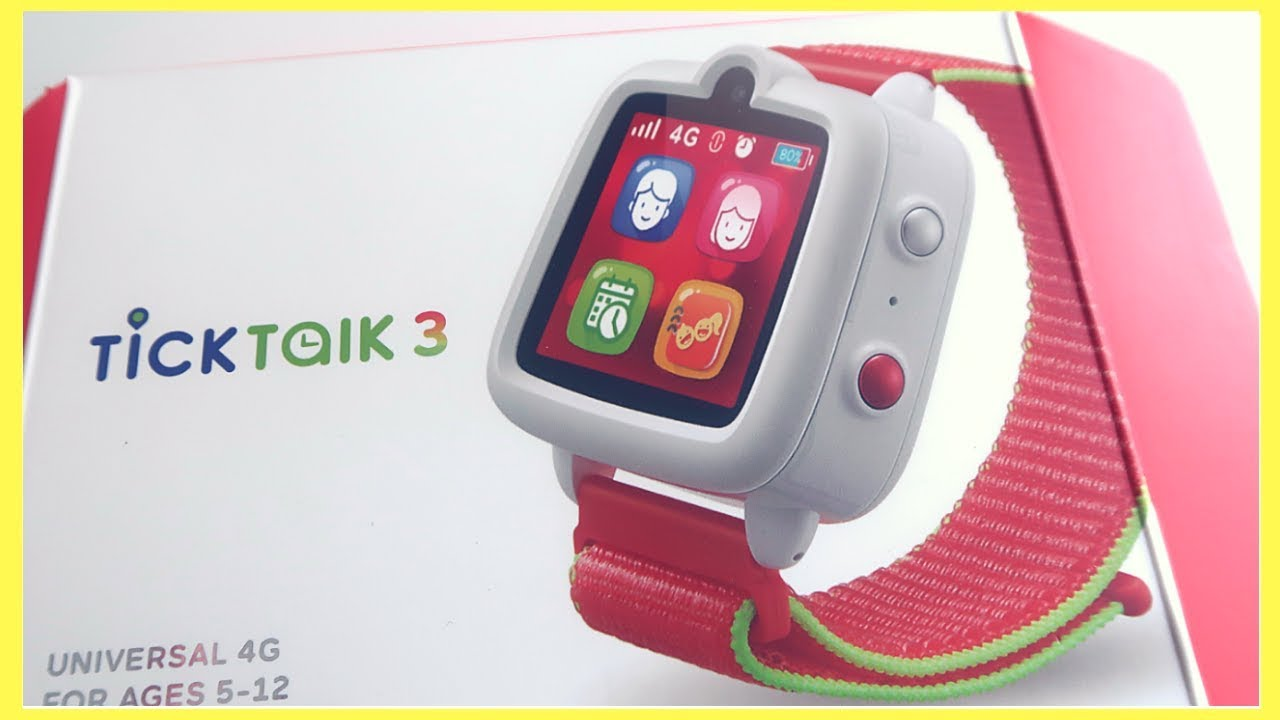 TICK TALK 3 REVIEW \ SMARTWATCH FOR KIDS