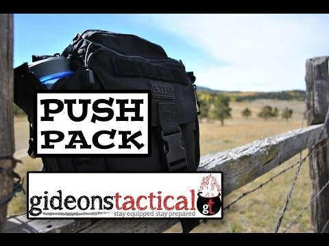 5.11 Tactical Push Pack Review: Great For Your EDC
